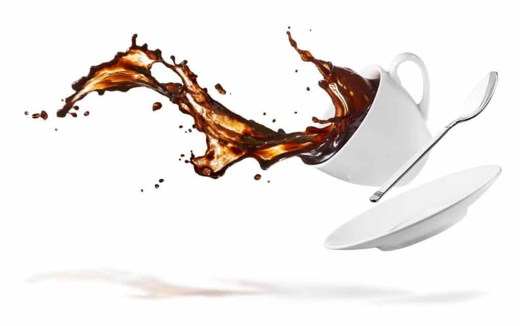 remoção de manchas de café