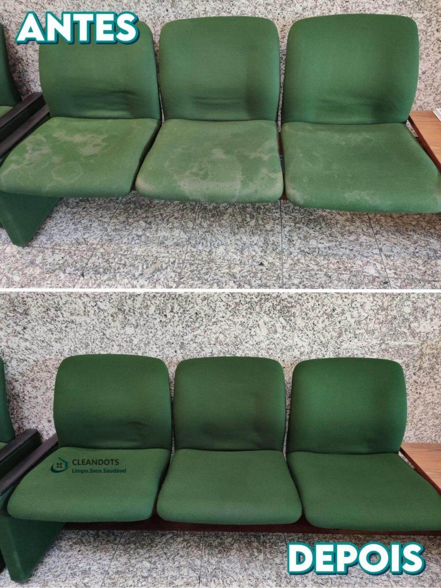 Cleandots limpeza de cadeiras
