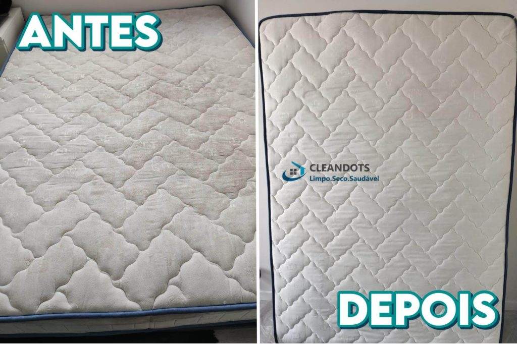 Cleandots limpeza de colchões