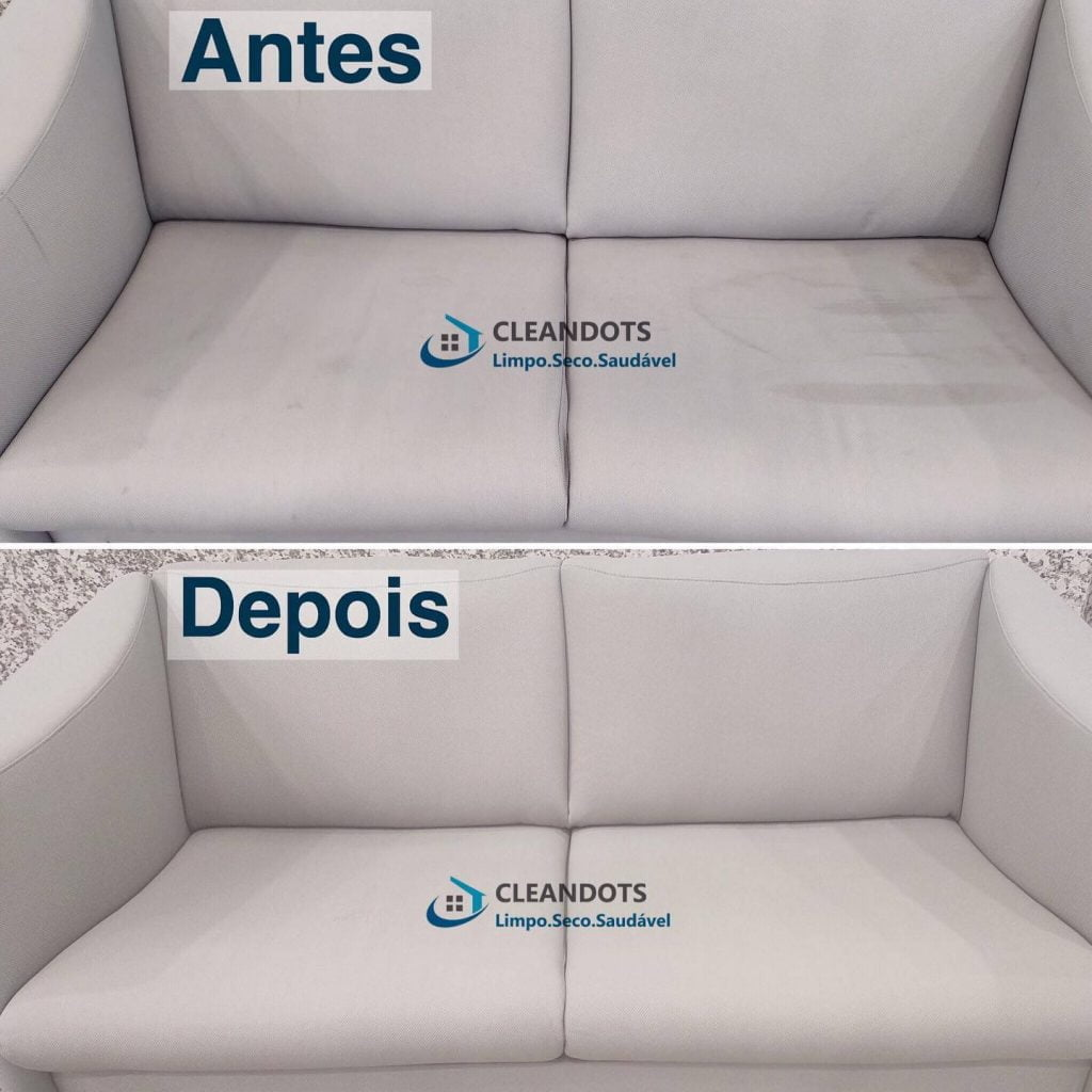 Cleandots limpeza de sofás