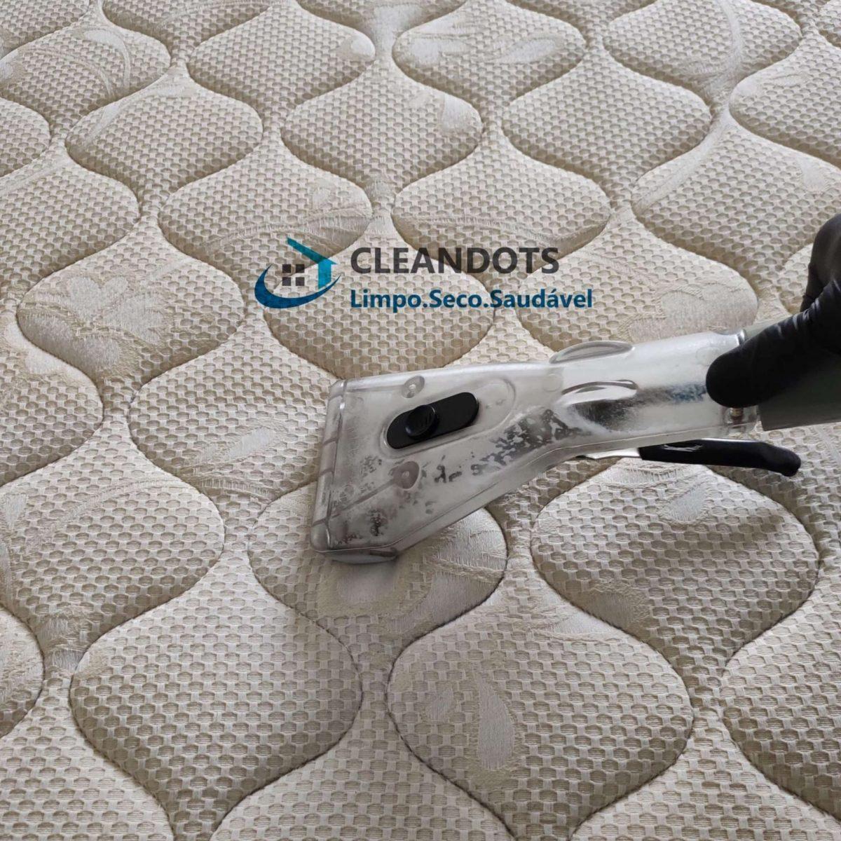 Cleandots limpeza de colchão